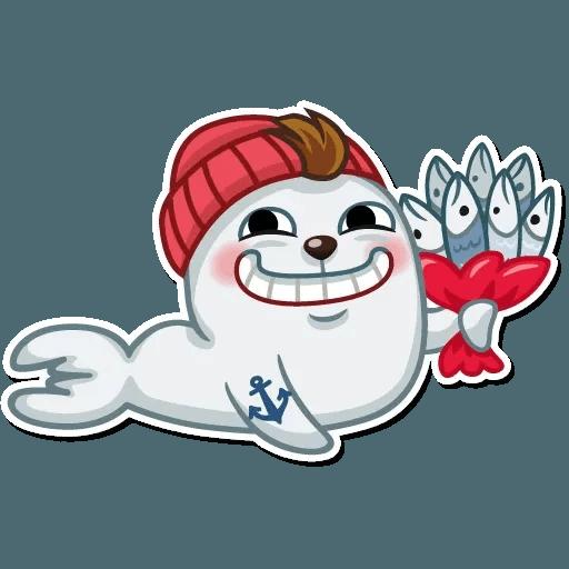 Seal Nico - Sticker 22
