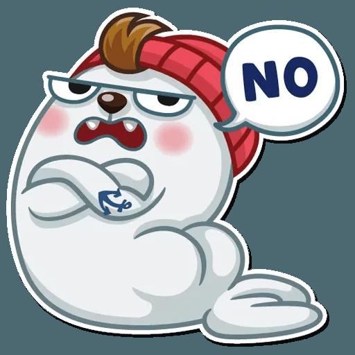 Seal Nico - Sticker 14