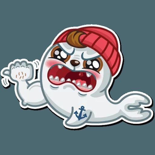 Seal Nico - Sticker 15