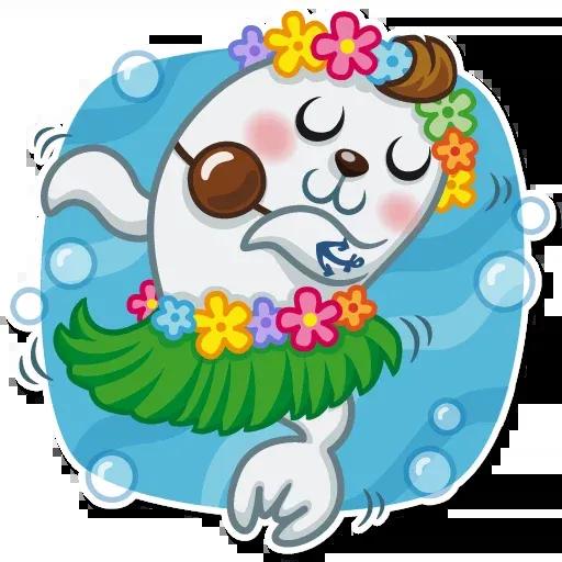 Seal Nico - Sticker 16