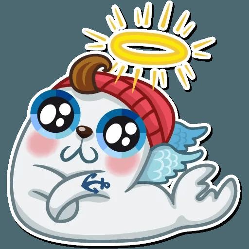 Seal Nico - Sticker 4