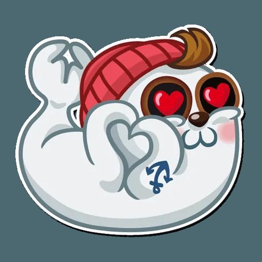 Seal Nico - Sticker 8