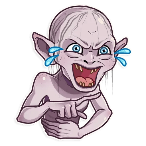 Gollum - Sticker 1