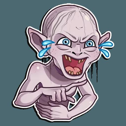 Gollum - Tray Sticker