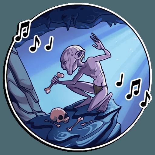 Gollum - Sticker 25