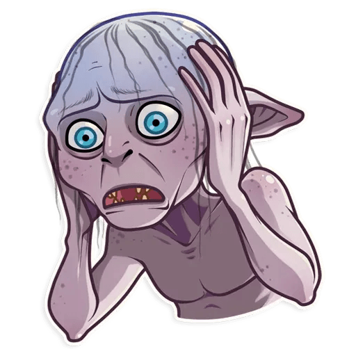 Gollum - Sticker 4