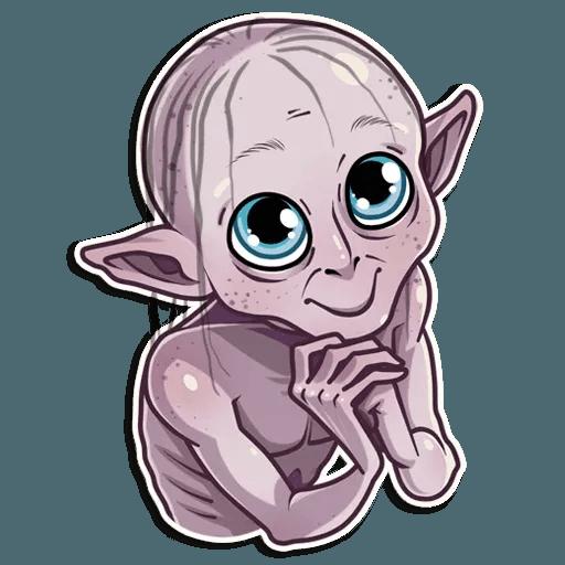 Gollum - Sticker 14
