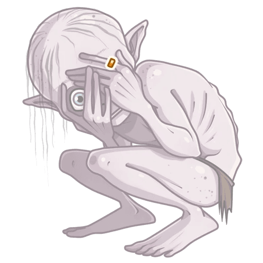 Gollum - Sticker 6
