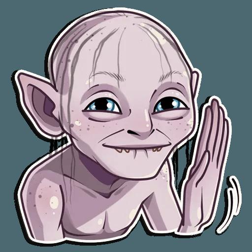 Gollum - Sticker 5
