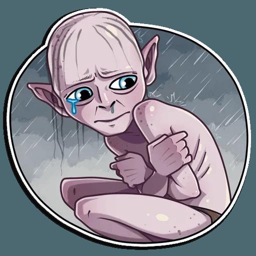Gollum - Sticker 19