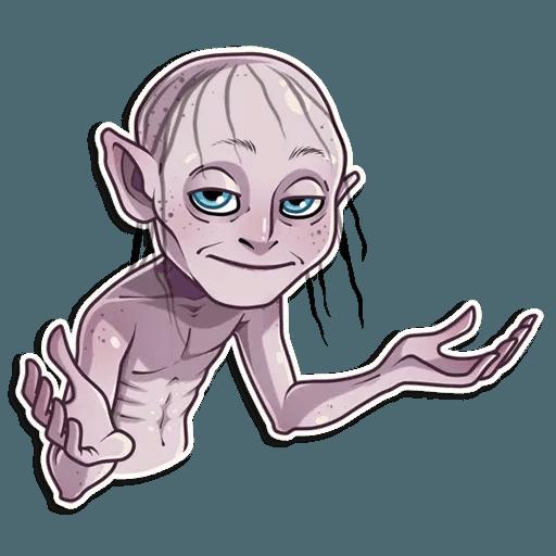 Gollum - Sticker 11