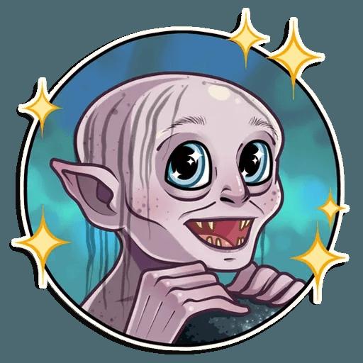 Gollum - Sticker 7