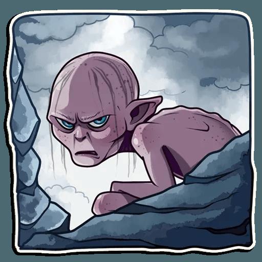 Gollum - Sticker 16