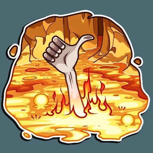 Gollum - Sticker 3