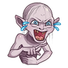 Gollum - Tray Sticker