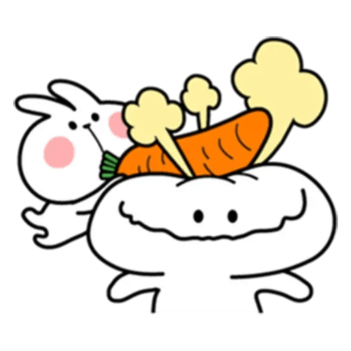 Spoiled rabbit 7 - Sticker 28