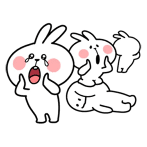 Spoiled rabbit 7 - Sticker 18