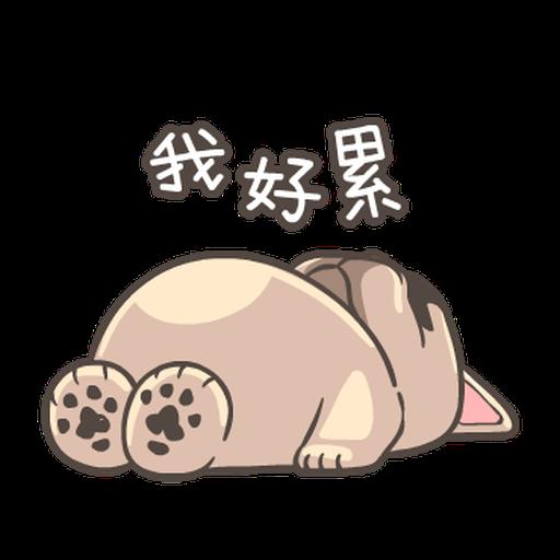 法鬥皮古-說好的減肥呢(第15彈) - Sticker 1