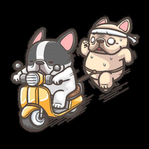 法鬥皮古-說好的減肥呢(第15彈) - Sticker 4