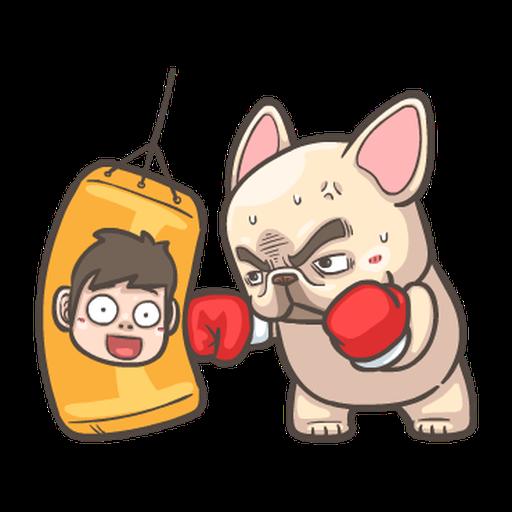 法鬥皮古-說好的減肥呢(第15彈) - Sticker 19