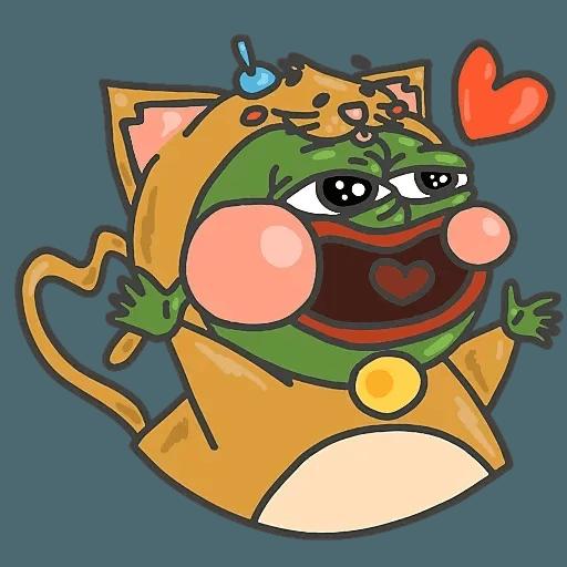PepePig&Meow - Sticker 25