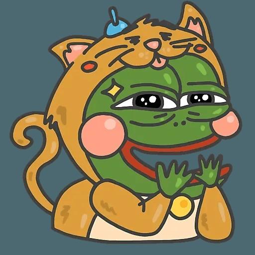 PepePig&Meow - Sticker 14