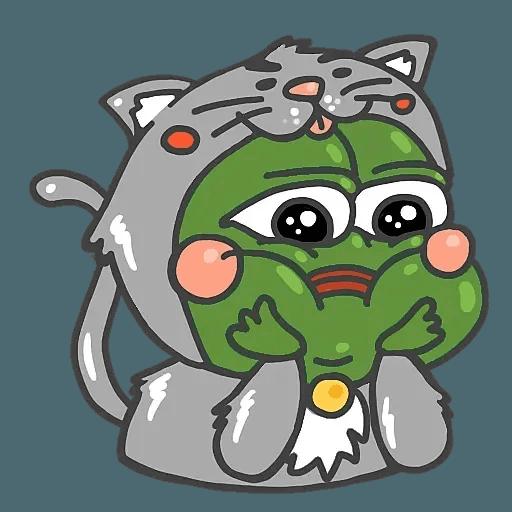 PepePig&Meow - Sticker 27