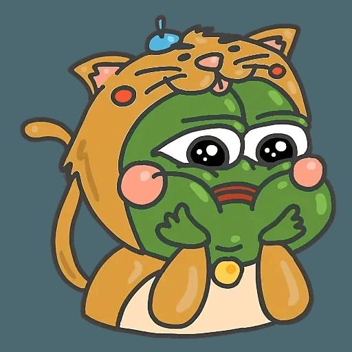 PepePig&Meow - Sticker 15