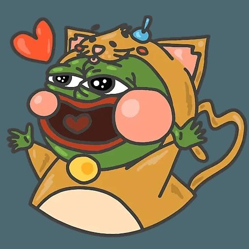 PepePig&Meow - Sticker 24