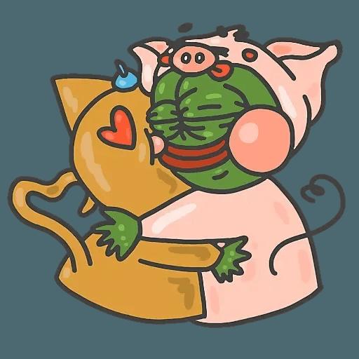 PepePig&Meow - Sticker 19
