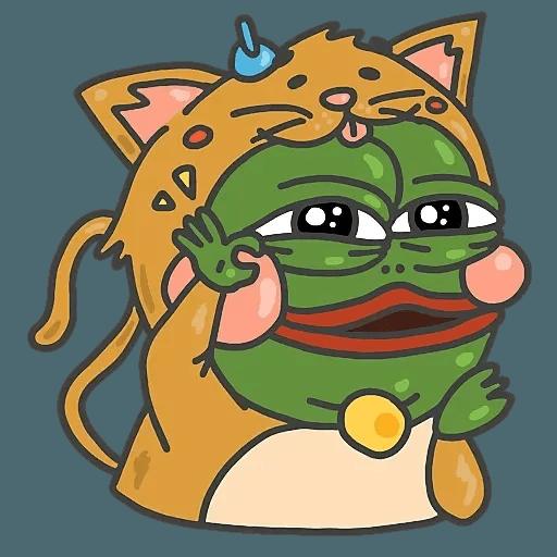 PepePig&Meow - Sticker 13