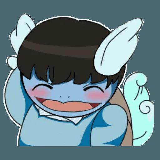🐢어니부기💙 - Sticker 5