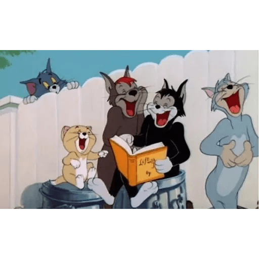 Tom and jerry - Sticker 10