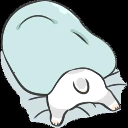 ㄇㄚˊ幾兔16 Tired, 自己 - Sticker 11