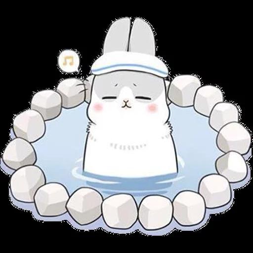ㄇㄚˊ幾兔16 Tired, 自己 - Sticker 18