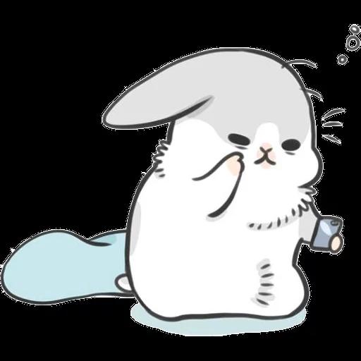 ㄇㄚˊ幾兔16 Tired, 自己 - Sticker 3