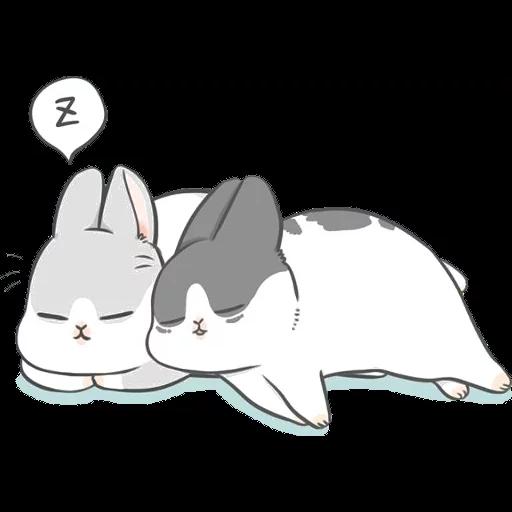 ㄇㄚˊ幾兔16 Tired, 自己 - Sticker 24