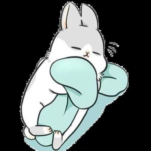 ㄇㄚˊ幾兔16 Tired, 自己 - Sticker 7