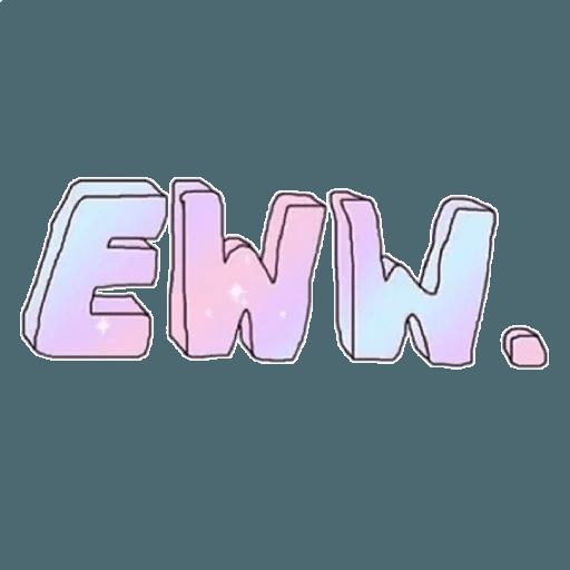 Tumblr wordings - Sticker 1