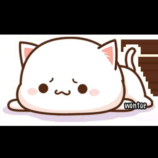Peach Cat 2 - Sticker 5
