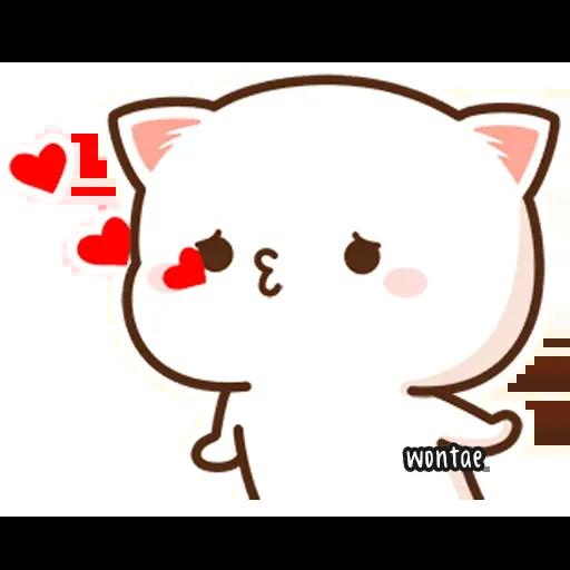 Peach Cat 2 - Sticker 6