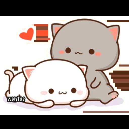Peach Cat 2 - Sticker 13