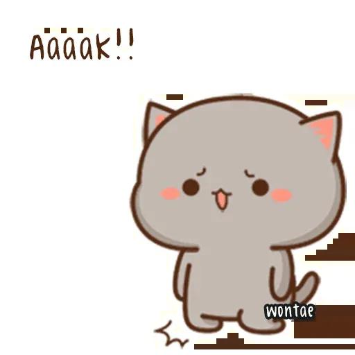 Peach Cat 2 - Sticker 21