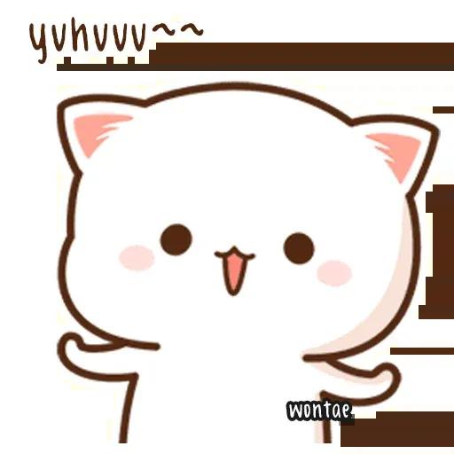 Peach Cat 2 - Sticker 10