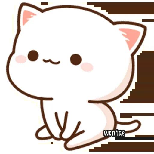 Peach Cat 2 - Sticker 11