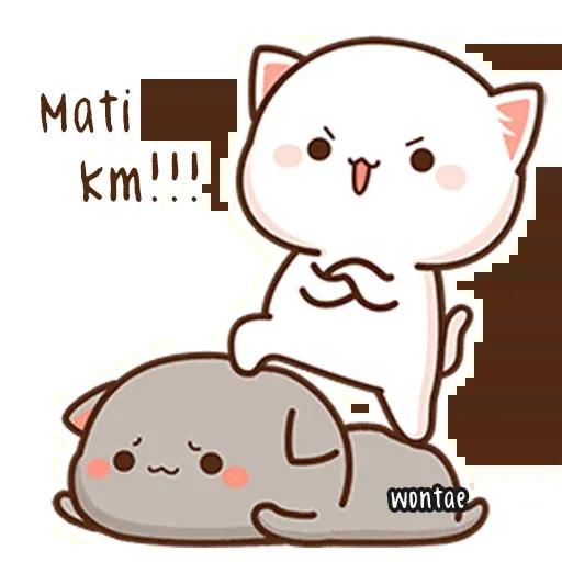 Peach Cat 2 - Sticker 22