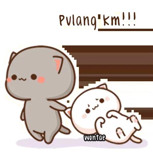 Peach Cat 2 - Sticker 20
