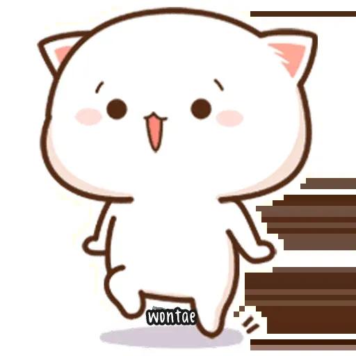 Peach Cat 2 - Sticker 9