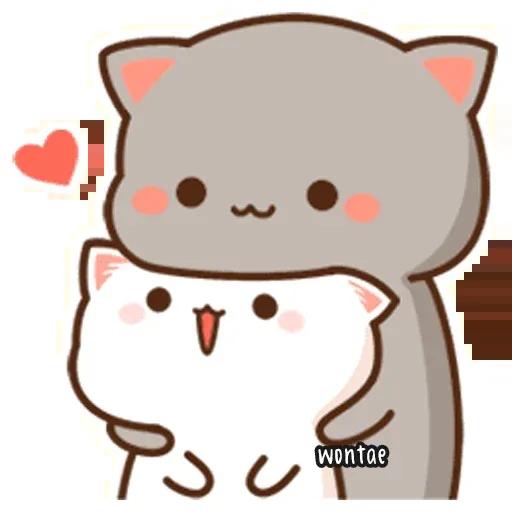 Peach Cat 2 - Sticker 16