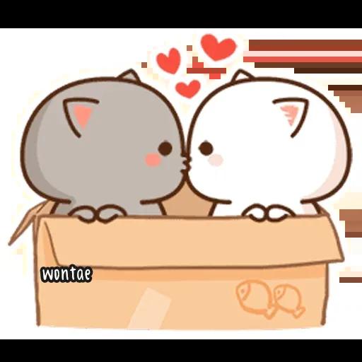 Peach Cat 2 - Sticker 4